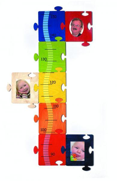 Hess Meßlatte Bilder-Puzzle aus Holz