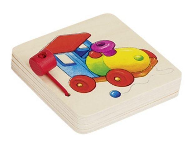 goki Bilderbuch Spielsachen aus Holz