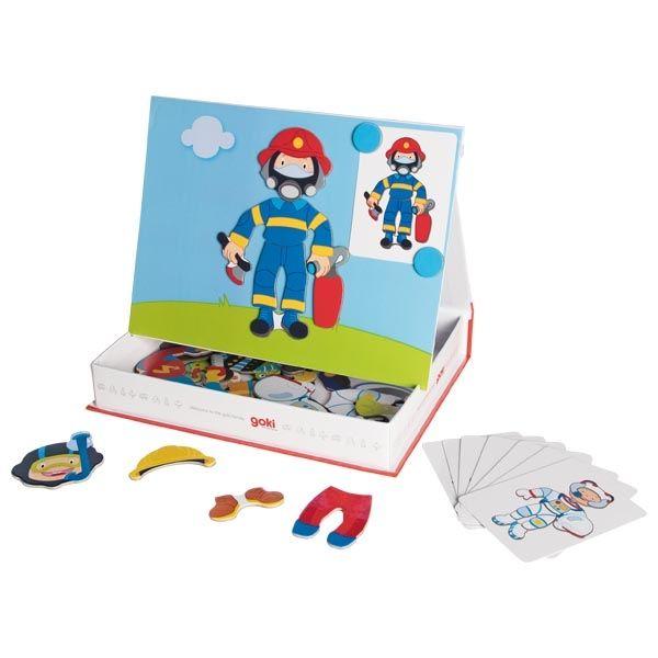 goki Magnetspiel Verkleiden Junge 43tlg. 58741
