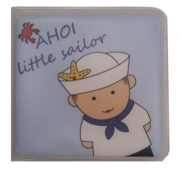 "fashy little star Badebüchlein ""AHOI little sailor"" mit Quietsche"