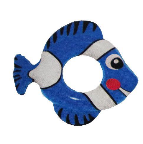 Fashy Schwimmring Fisch blau