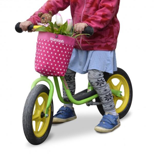 Lenkertasche-Fahrrad-pink-mit-Namen