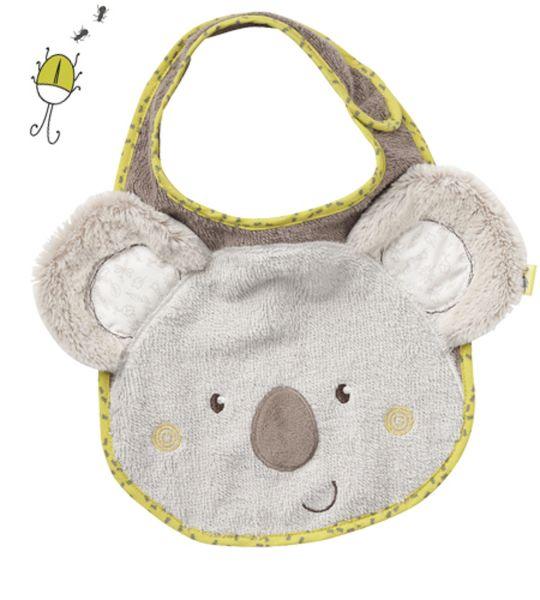 Fehn Australia Lätzchen Koala mit Klettverschluss 064216