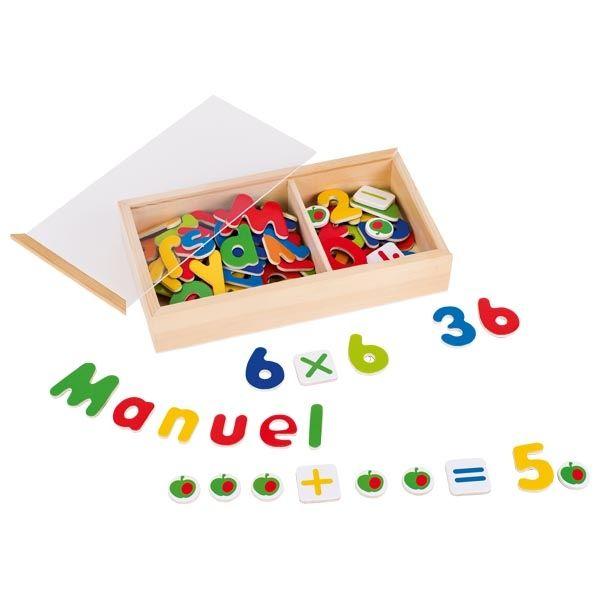 goki Magnet-Alphabet und Zahlen 89tlg
