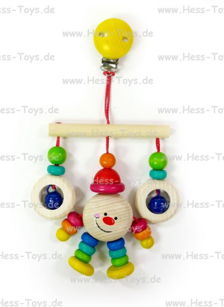 Hess Trapez Clown Michael aus Holz