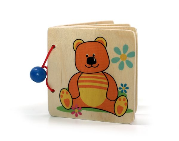 Hess Bilderbuch Teddy aus Holz