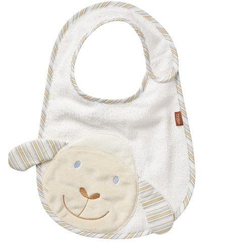 Fehn BabyLove Lätzchen Schaf mit Klettverschluss
