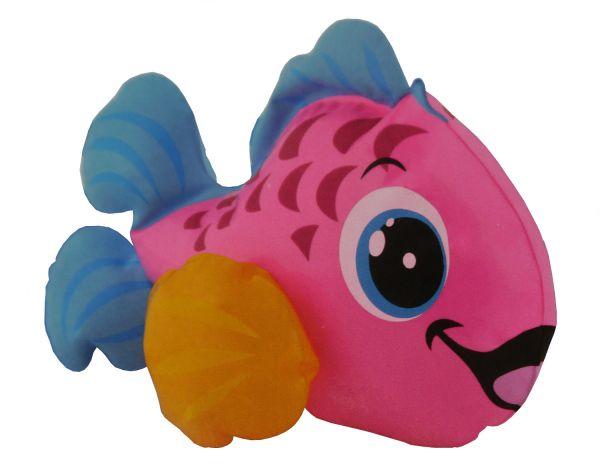 Fashy Wasserspielzeug - Kleines Badetier Fisch pink