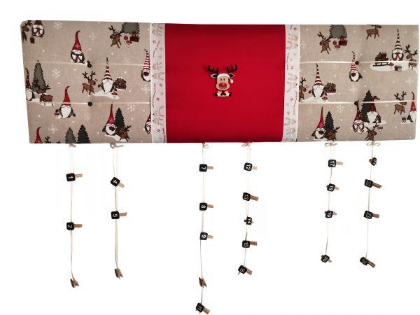 Adventskalender Weihnachen 100x30cm