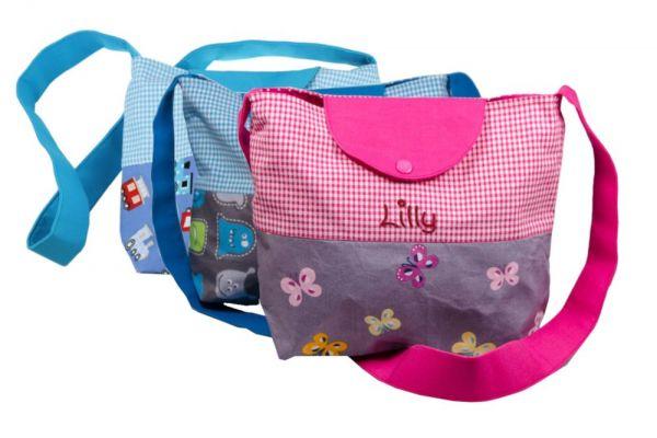Kindergartentasche mit Namen - Umhängetaschen für Jungen