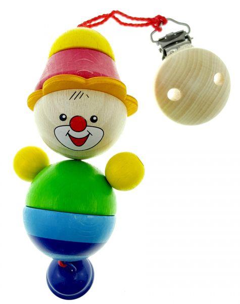 Hess Clipfigur Clown Felix aus Holz