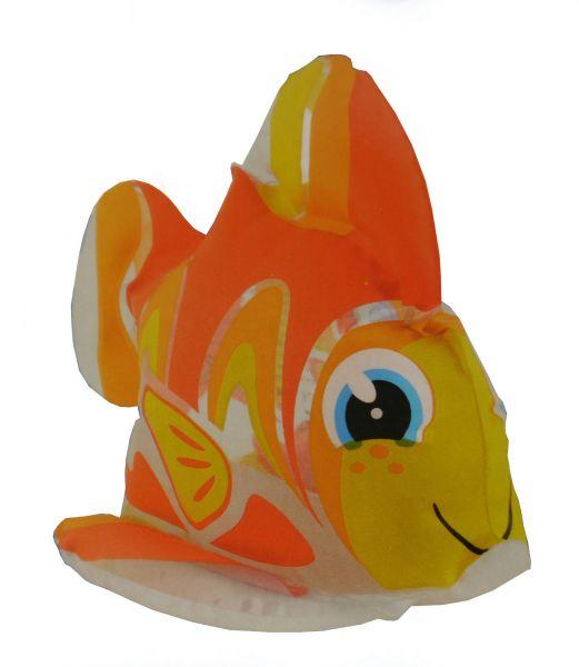 Fashy Wasserspielzeug - Kleines Badetier Fisch gelb
