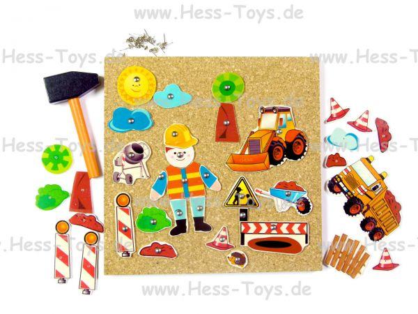 Hess Hammerspiel Baustelle